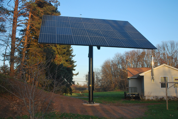 Solar Panel Tracking System - GMI Star Traker